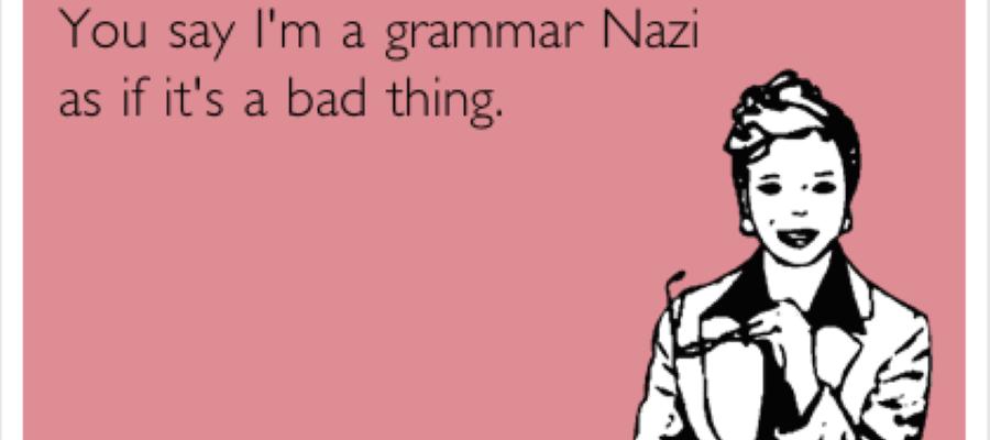 Uit de overpeinzingen van een taalnazi: waarom foutloze taal zo belangrijk is